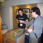 "Copyright Adventures in High Fidelity Audio 2011 ""So which room should this go into?"" Harry and Jonathan discuss which equipment is to go into which room."