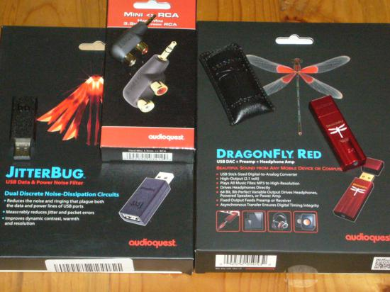 AudioQuest Dragonfly Red – Diminutive Super Star